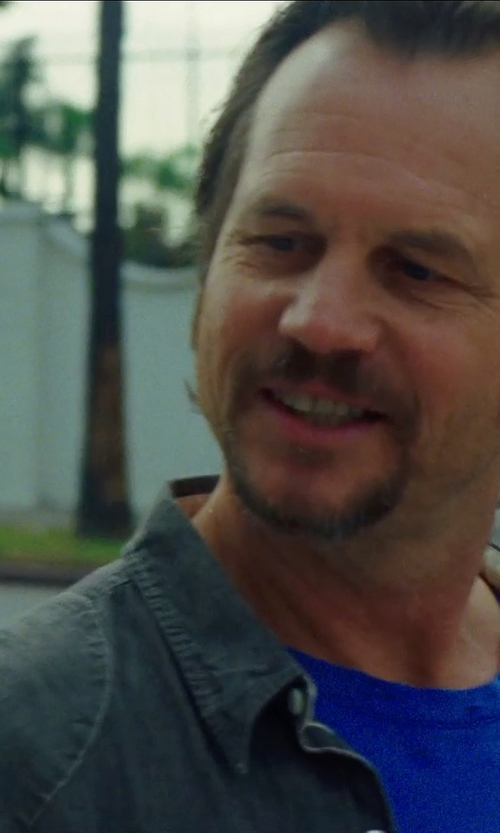 Bill Paxton with WESC Denim shirt in Nightcrawler