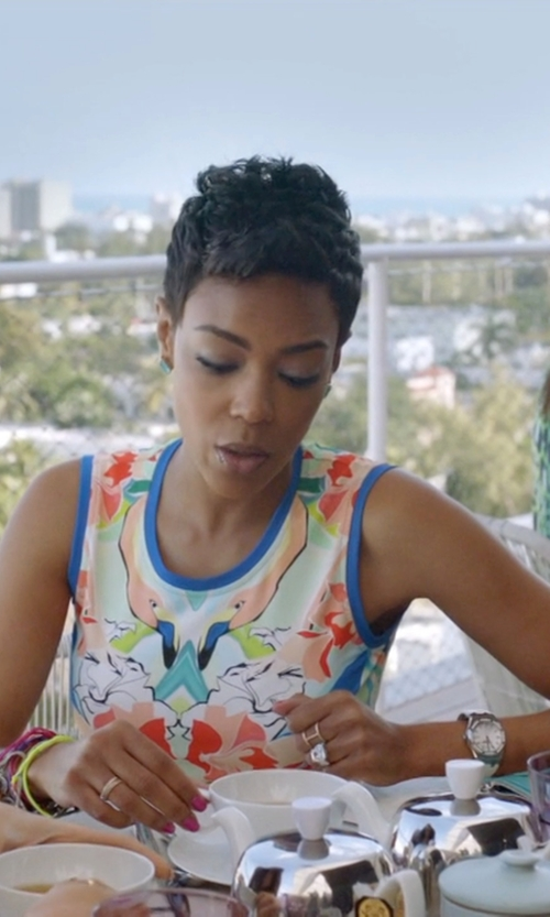 Jazmyn Simon with David Yurman Cable Collectibles Oval Ring in Ballers
