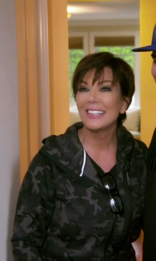 Kris Jenner with Better Bodies Heavy Street Hoodie in Keeping Up With The Kardashians
