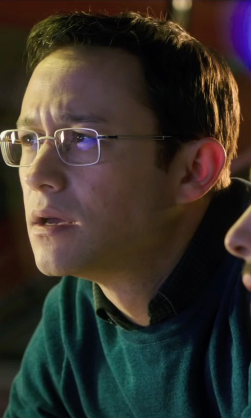 Joseph Gordon-Levitt with Valentino Crew Neck Sweater in Snowden