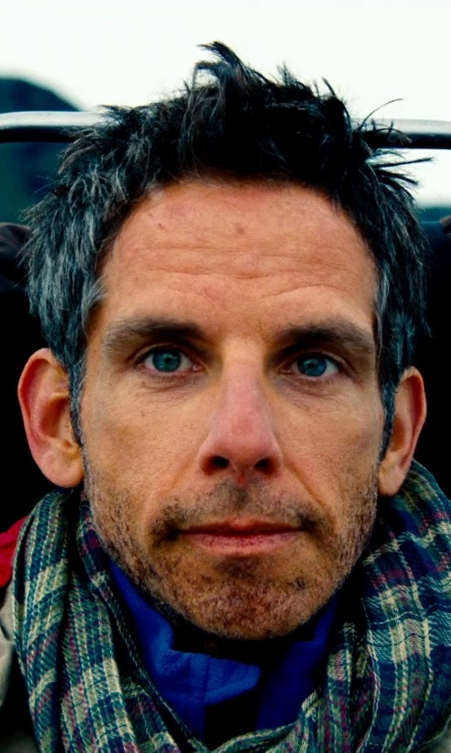 Ben Stiller with Ralph Lauren Hiking Jacket in The Secret Life of Walter Mitty