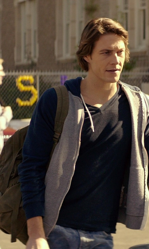 Luke Bracey with Marc New York by Andrew Marc Essex Backpack in The Best of Me