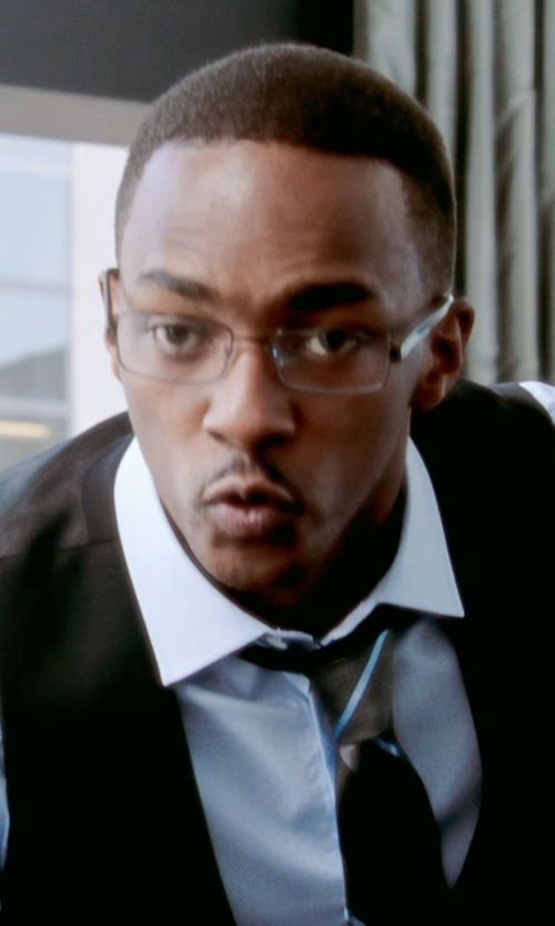 Anthony Mackie with Spy Optic Damian Eyeglasses in Black or White