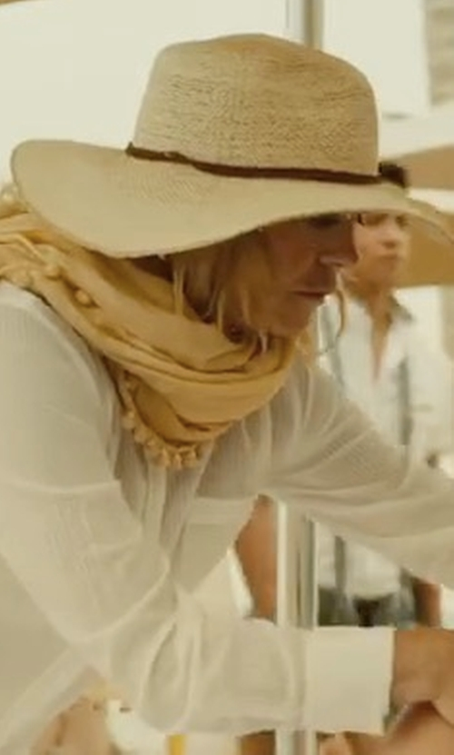 Goldie Hawn with L*Space Sunny Days Panama Hat in Snatched
