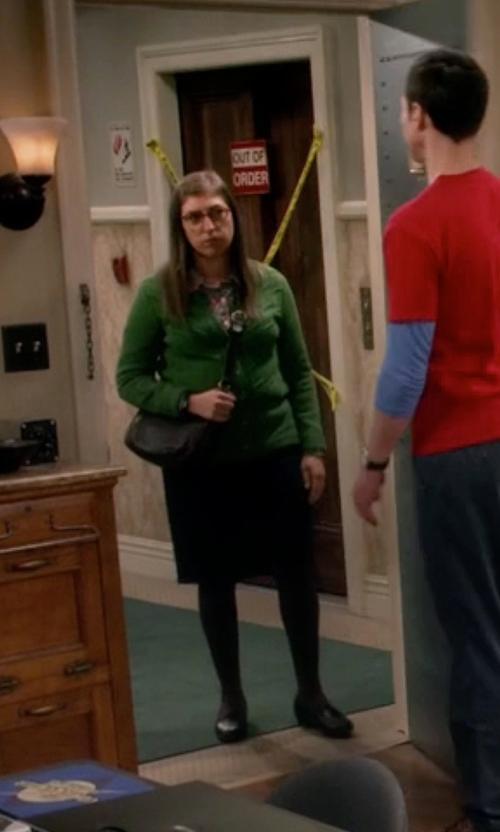Mayim Bialik with Givenchy Classic Midi Skirt in The Big Bang Theory