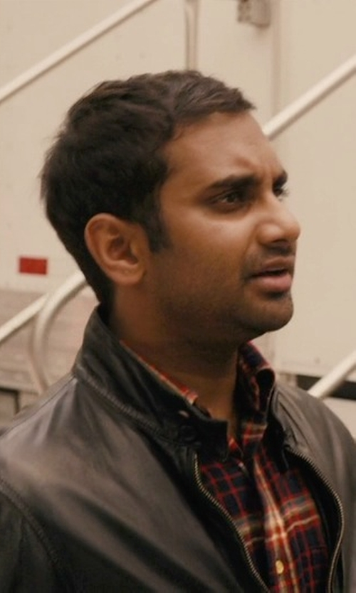 Aziz Ansari with Van Laack Roko Sport Shirt in Master of None