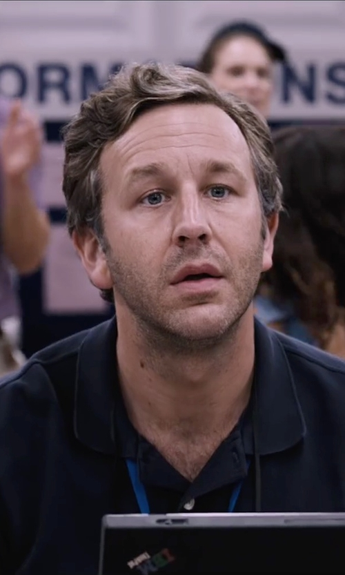Chris O'Dowd with Sunspel Classic Polo Shirt in The Program
