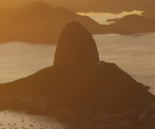 Unknown Actor with Sugarloaf Mountain Rio de Janeiro, Brazil in Mechanic: Resurrection