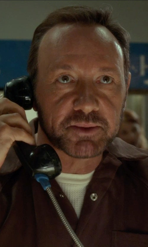 Kevin Spacey with Charades Men's Bad Boy Department Of Corrections Jumpsuit in Horrible Bosses 2