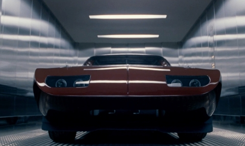 Vin Diesel with Dodge 1969 Charger Daytona Coupe in Fast & Furious 6