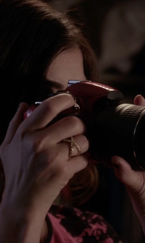 Lucy Hale with Nikon Digital SLR Camera in Pretty Little Liars