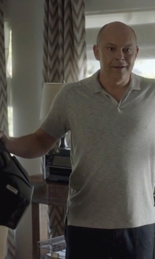 Rob Corddry with Rag-Bone Derby Tote Bag in Ballers