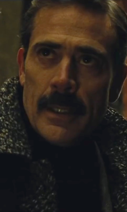 Jeffrey Dean Morgan with Neiman Marcus Superfine Cashmere Turtleneck Sweater in Batman v Superman: Dawn of Justice