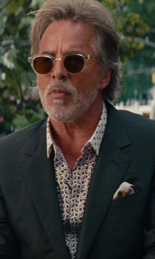 Don Johnson with Theory Wellar Wool Blazer in The Other Woman