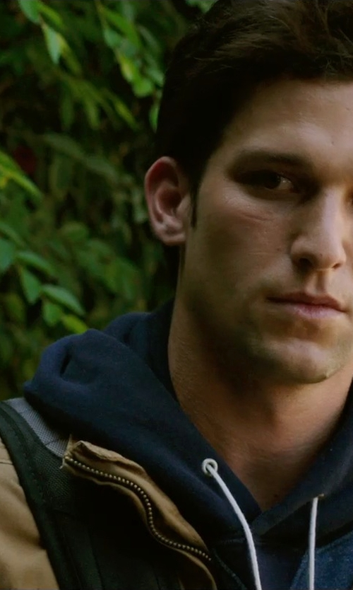 Daren Kagasoff with Timberland Abington Field Jacket in Ouija