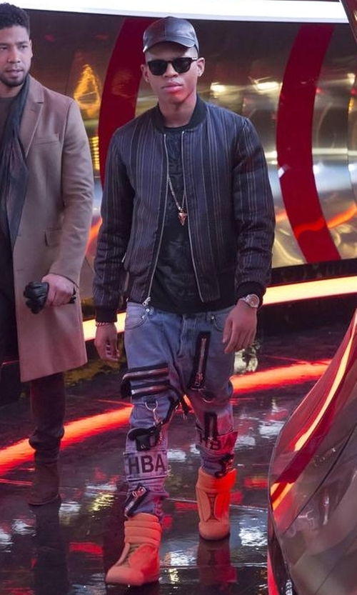 Bryshere Y. Gray with Maison Margiela Future Ankle-Strap Sneakers in Empire