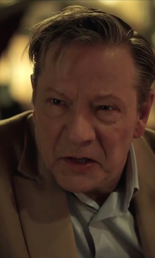 Chris Cooper with Brooks Brothers Wool And Camel Hair Sport Coat in Demolition