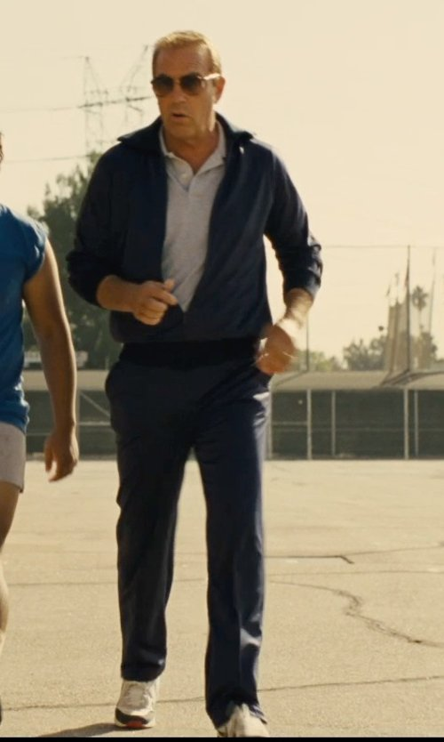Kevin Costner with Nike Striker Mens Sweatpants in McFarland, USA