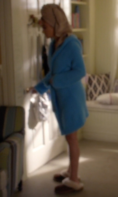 Shay Mitchell with UGG Scuffette II Slippers in Pretty Little Liars