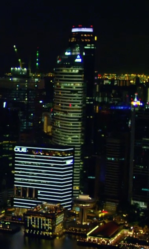 Unknown Actor with Ocean Financial Centre Singapore in Hitman: Agent 47