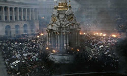 Unknown Actor with Maidan Nezalezhnosti Kyiv, Ukraine in Tomorrowland