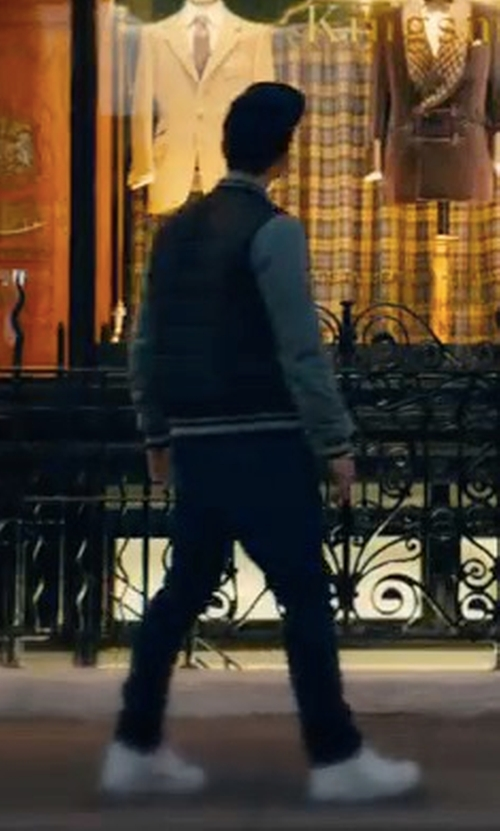 Taron Egerton with Nike Air Force 1 Low Sneakers in Kingsman: The Golden Circle