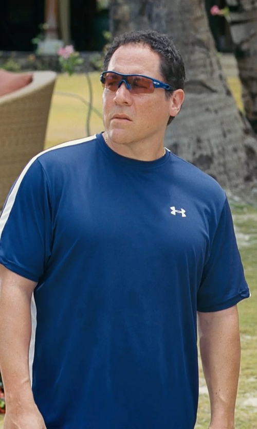 Jon Favreau with Under Armour Men UA Catalyst Short Sleeve T-Shirt in Couple's Retreat