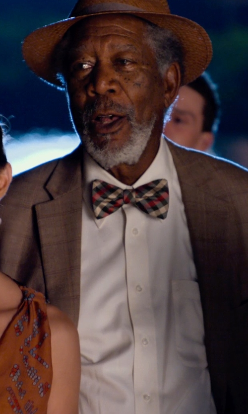 Morgan Freeman with Nordstrom Regular Fit Oxford Sport Shirt in Dolphin Tale 2