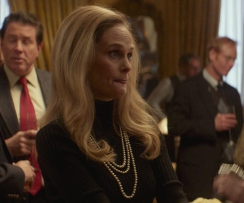Barbara Garrick with Tory Burch Evie Multi-Strand Necklace in That Awkward Moment