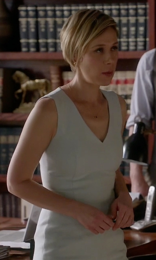 Liza Weil with Elie Tahari Shannon Dress in How To Get Away With Murder