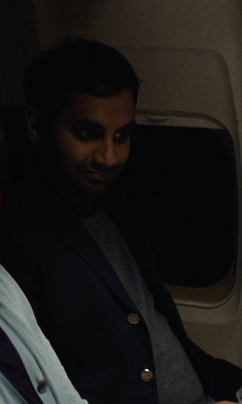 Aziz Ansari with Tagliatore Two Piece Suit in Master of None