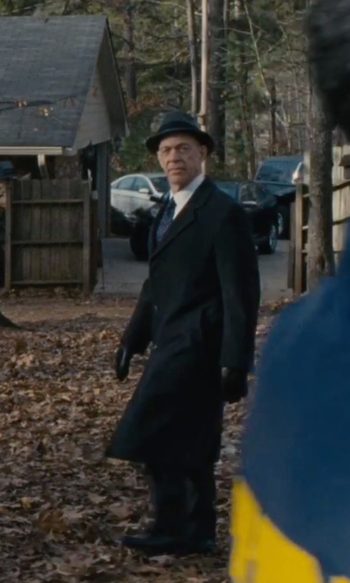 J.K. Simmons with Block Headwear Wool Fedora Hat in The Accountant