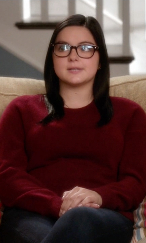 Ariel Winter with French Connection Candy Knits Sweater in Modern Family