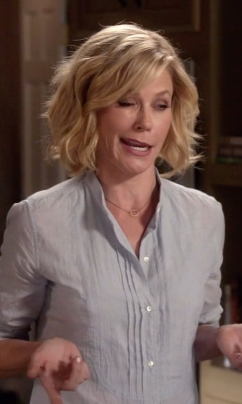 Julie Bowen with A.P.C. Bérangère Blouse in Modern Family