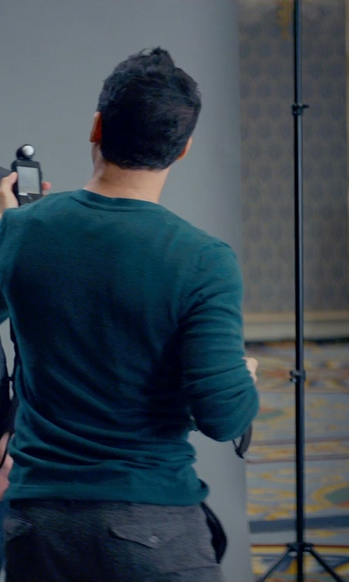 Victor Rasuk with Dockers Men's Alpha Khaki Pant in Fifty Shades of Grey