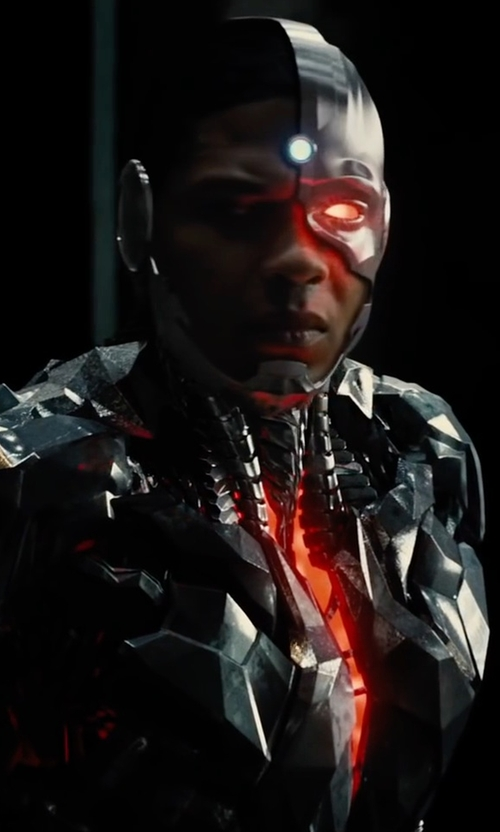 Ray Fisher with Victor James Martinez (Concept Artist) Cyborg in Justice League