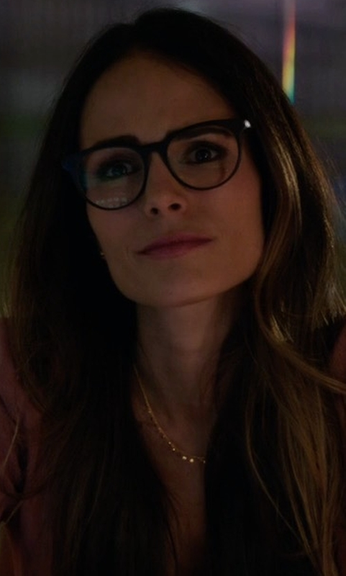 Jordana Brewster with Massimo Milano Cateye Eyeglasses in Lethal Weapon