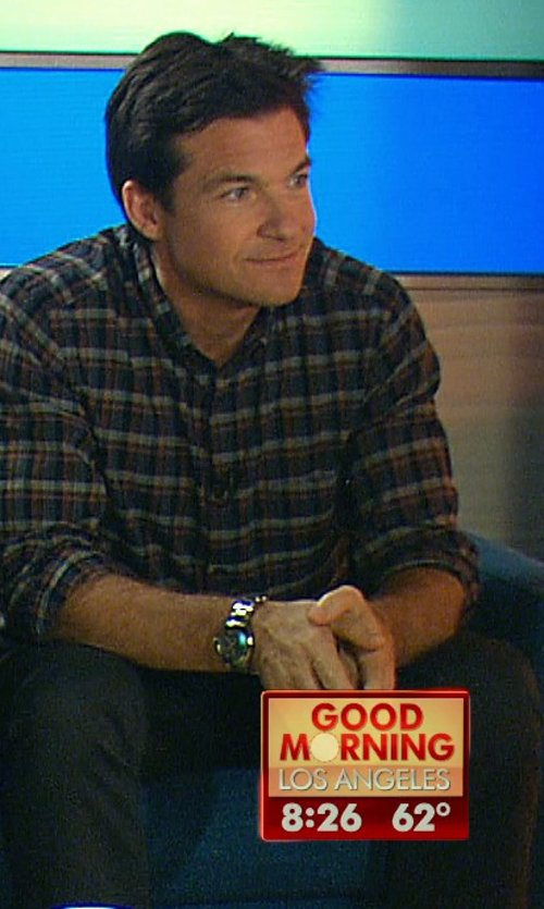 Jason Bateman with Ralph Lauren Wool Dress Pants in Horrible Bosses 2