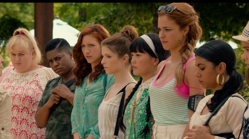 Alexis Knapp with Juicy Courture Tank Top in Pitch Perfect 2