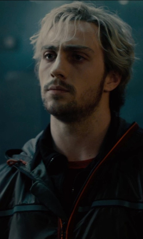 Aaron Taylor-Johnson with Hurley Men's Staple 3/4 Raglan T-Shirt in Avengers: Age of Ultron