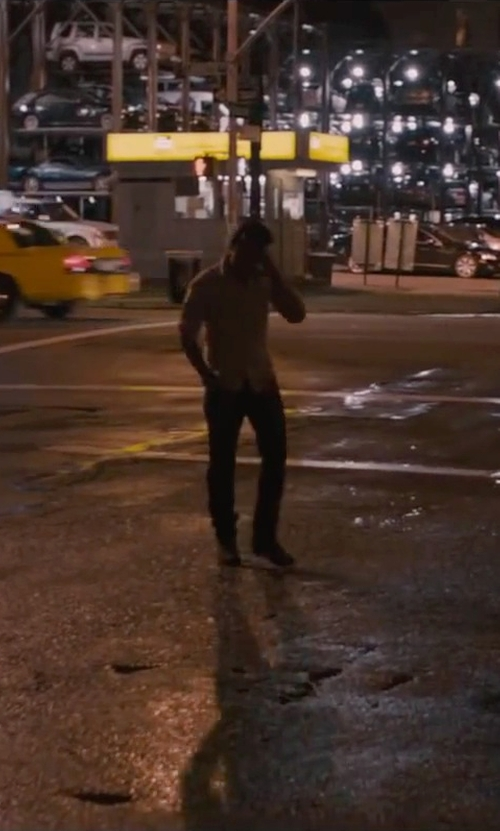 James McAvoy with John Varvatos Star USA NYC Vintage Chukka Boots in The Disappearance of Eleanor Rigby