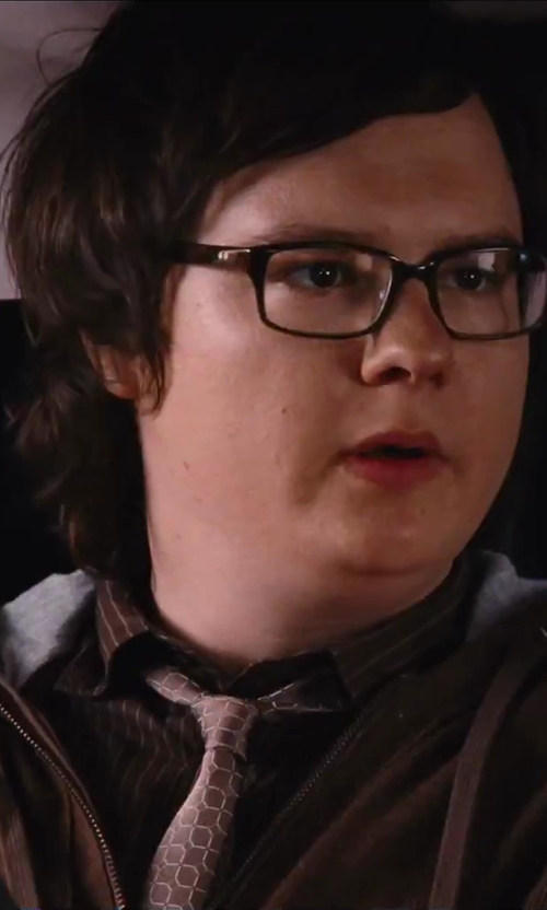 Clark Duke with Yves Saint Laurent Circle Neat Classic Tie in Hot Tub Time Machine 2