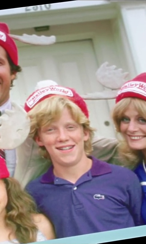 Anthony Michael Hall with Morris Costumes National Lampoon's Vacation Wally World Hat in Vacation