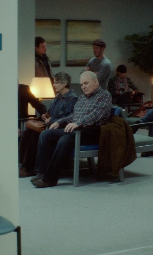 Stacy Keach with Alegria Aaron' Suede Slip-On Shoes in If I Stay
