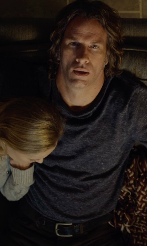 Thomas Jane with Boss Hugo Boss Reversible Leather Belt in Before I Wake