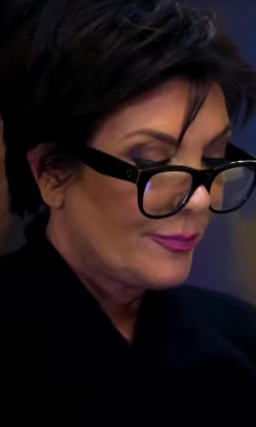Kris Jenner with Jockey Cotton Interlock Robe in Keeping Up With The Kardashians