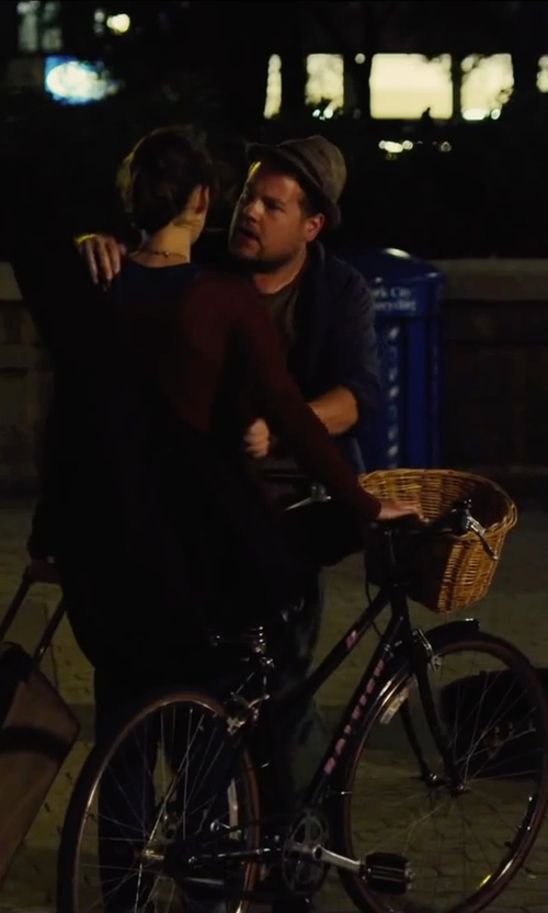 James Corden with Theory Nebulous Slub T-Shirt in Begin Again