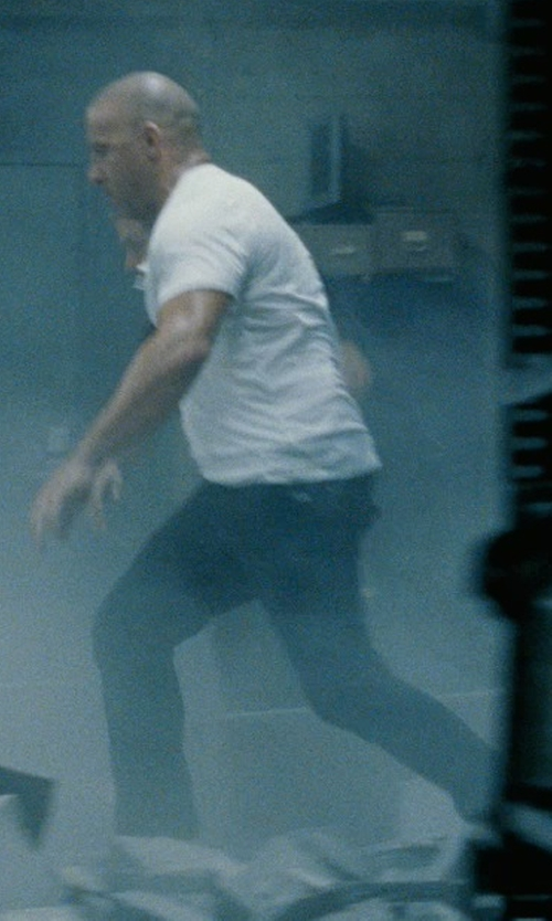 Vin Diesel with Nudie Jeans Thin Finn Slim Straight-Leg Jeans in Fast Five
