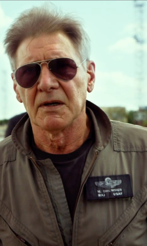 Harrison Ford with Tru Spec 27-P Flight Suit in The Expendables 3
