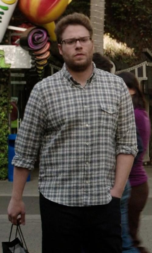Seth Rogen with Columbia Men's Out and Back II Long Sleeve Shirt in Neighbors